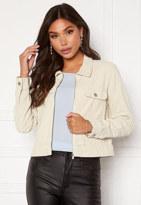 Jacqueline de Yong Shiraz Life Corduroy Zip Jacket