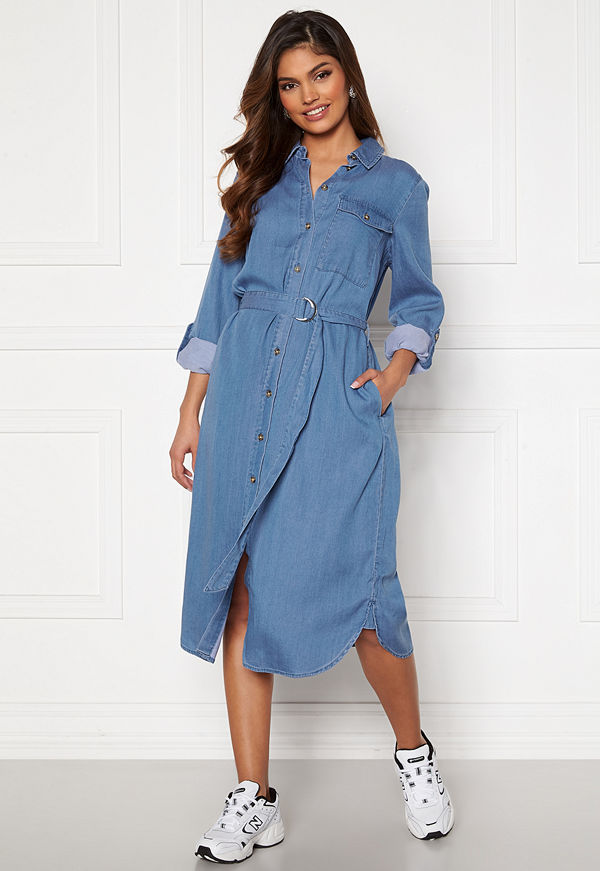 Vila Oakes Midi Shirt Dress