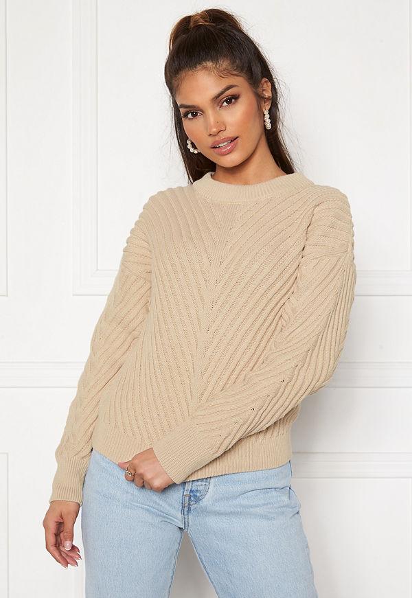 Object Alexandra L/S Knit Pullover