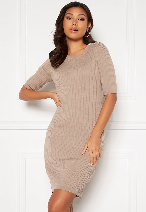 Vila Bosta Sleeve Knit Dress