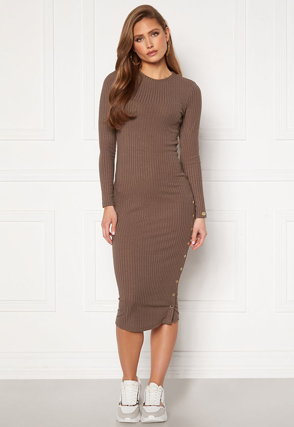 Chiara Forthi Flariana button midi dress