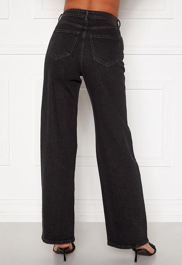Only Juicy HW Black Wide Leg Jeans