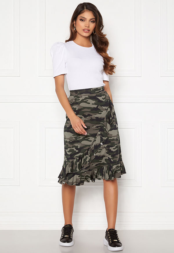 Happy Holly Sandy frill skirt  Camouflage