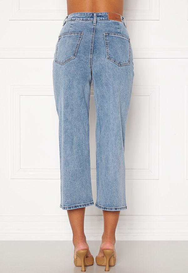 Object Marina MW New Denim Jeans Light Blue Denim