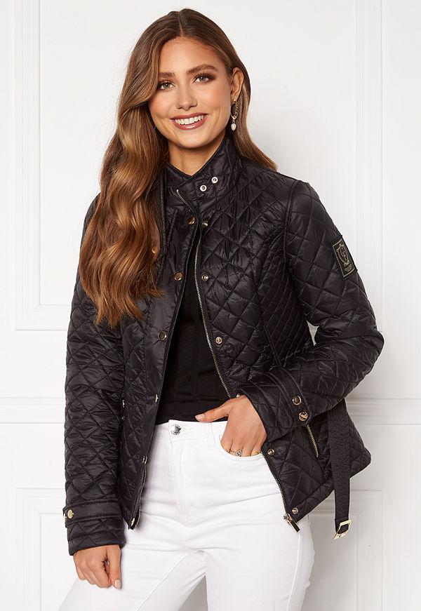 Chiara Forthi Sarraceno Short Jacket Black