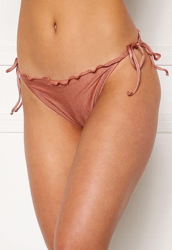 Bubbleroom Melissa ruffled bikini bottom Dark pink