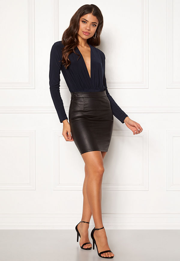 New Look Ruch Plunger Body Navy