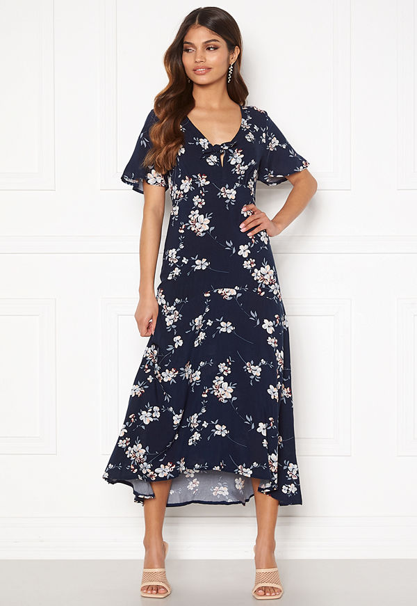 Happy Holly Therese dress Dark blue / Floral