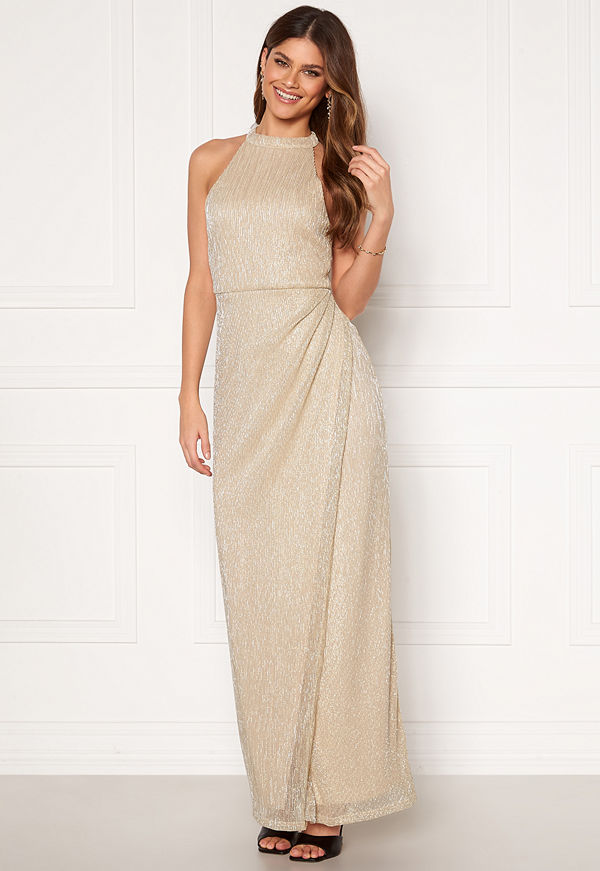 Moments New York Alice Lurex Gown Gold-coloured