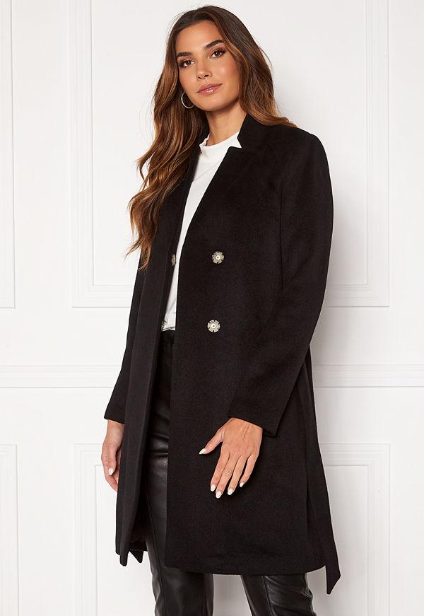 Selected Femme Mella Wool Coat Black