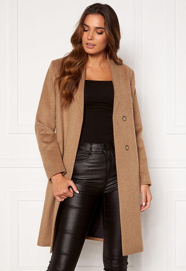 Selected Femme Mella Wool Coat Tigers Eye