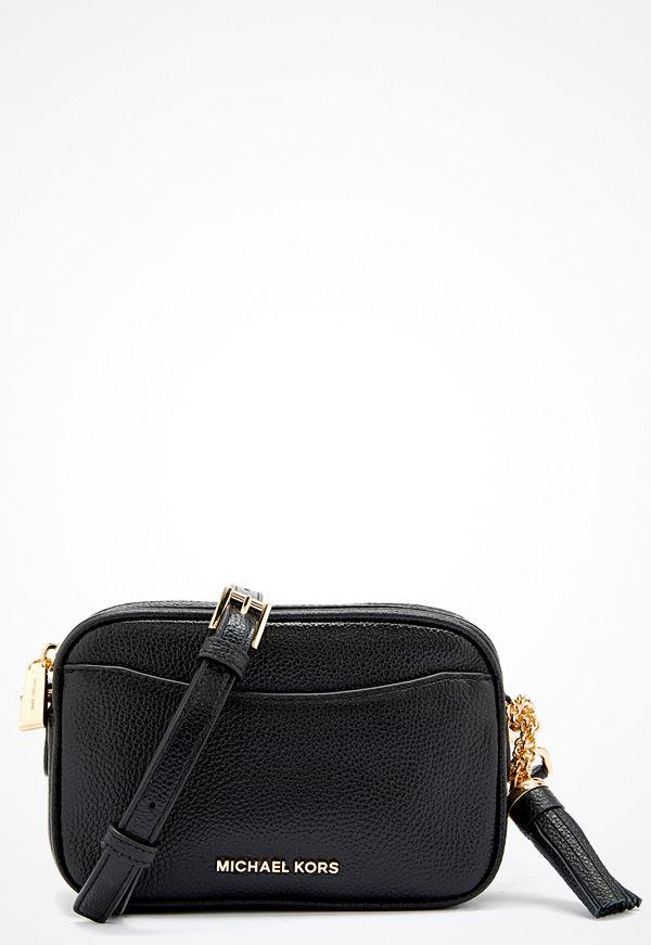 MICHAEL Michael Kors svart axelväska Belt/Shoulder Bag Black