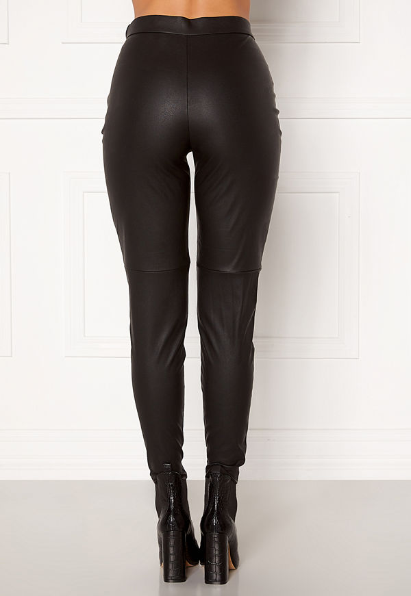 Vero Moda Janni HW PU Legging Black