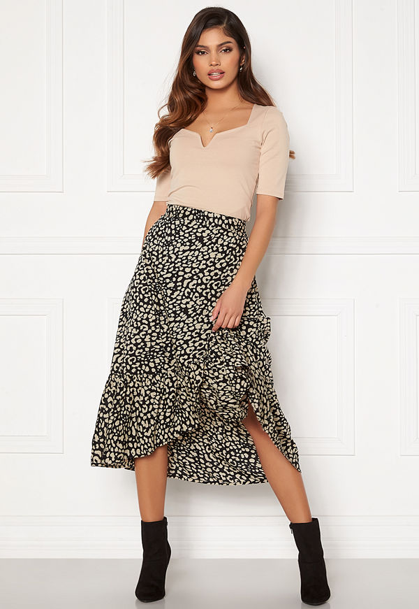 Happy Holly Michelle skirt Black / Beige