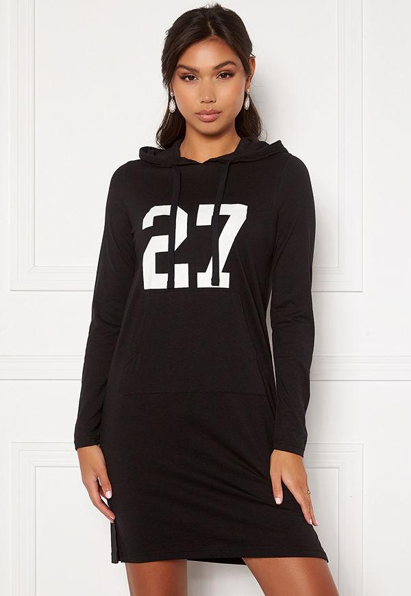 Happy Holly Camila tricot hood Black