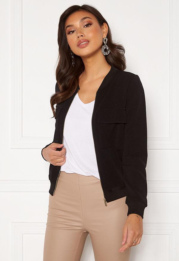 Happy Holly Maya pocket jacket Black