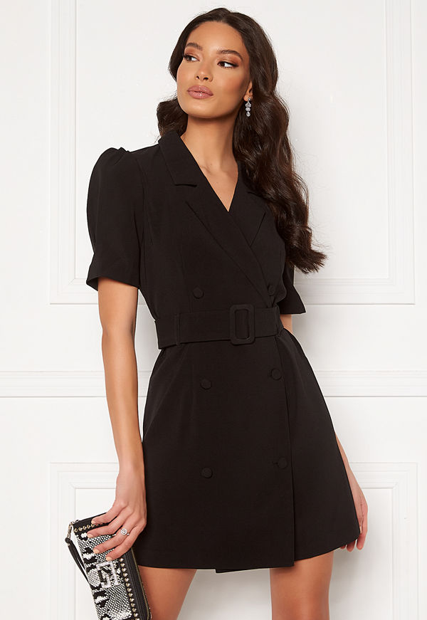 Only Astrid Puff Dress Black