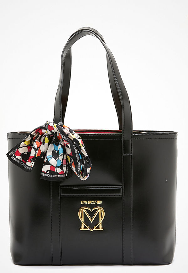 Love Moschino shopper New Love Moschino Scarf Bag 000 Black