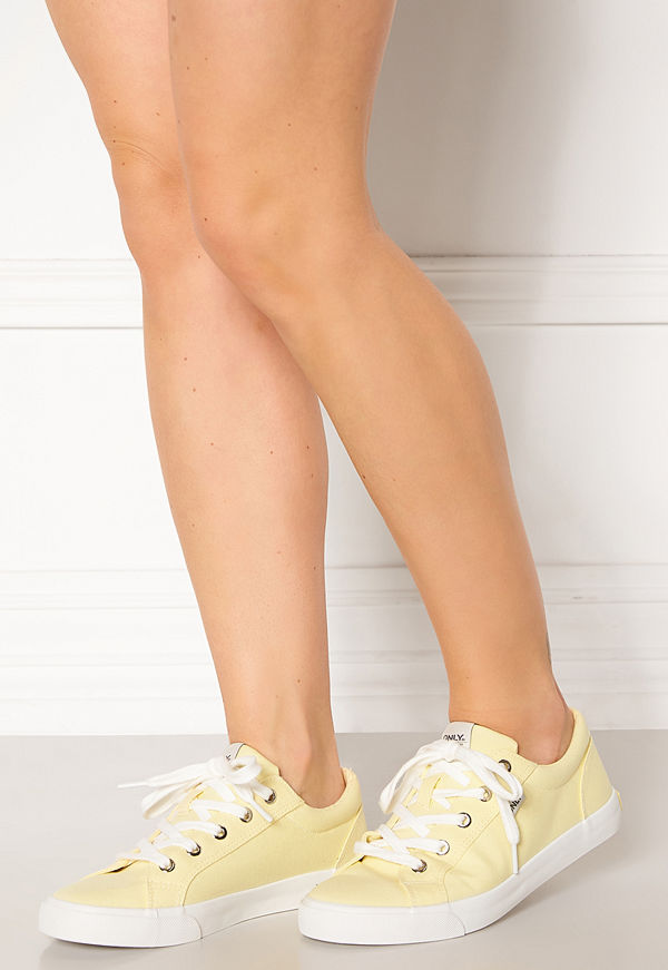 Only Sunny Canvas Sneaker Yellow Pear