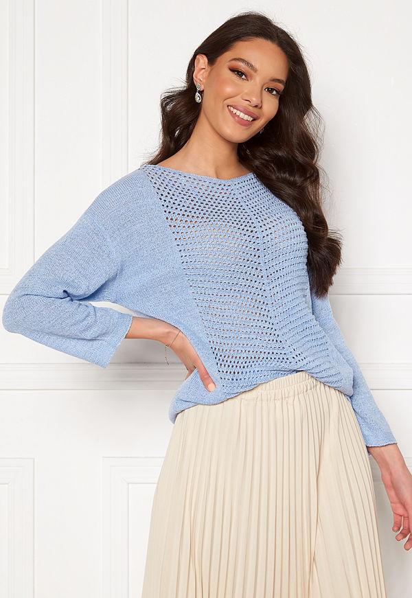 Jdy Smilla 3/4 Pullover Brunnera Blue