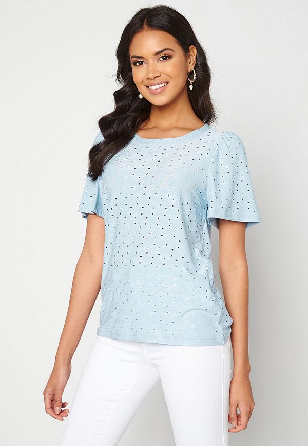 Ichi Umay T-shirt Cashmere Blue