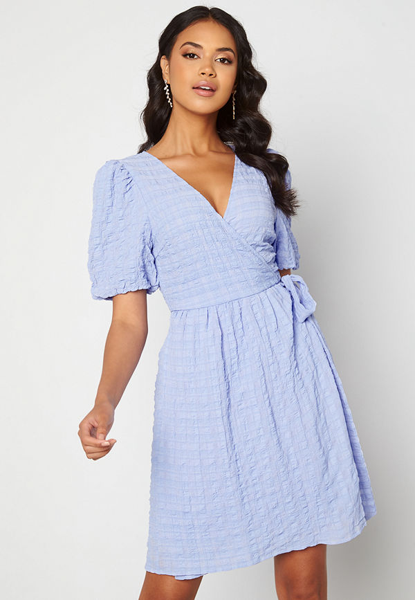 Ichi Gelby Dress Cashmere Blue