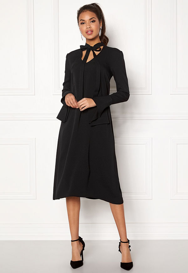 Dagmar Valencia Dress Black