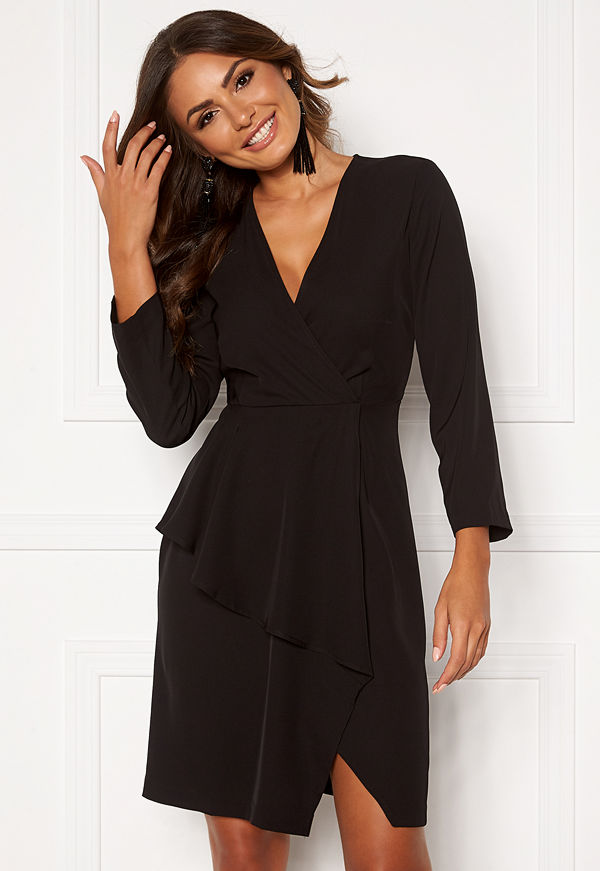 Y.a.s Taylor 7/8 Dress Black