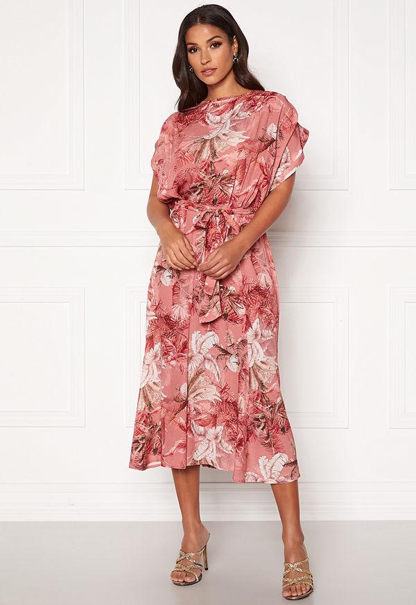Ravn Dazz Dress Palm Print