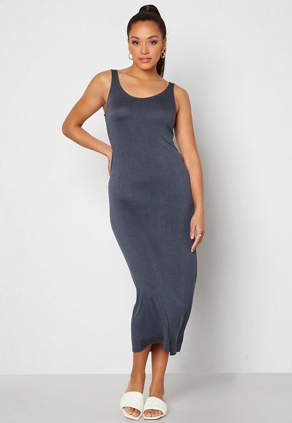 Pieces Kalli Maxi Tank Dress Ombre Blue