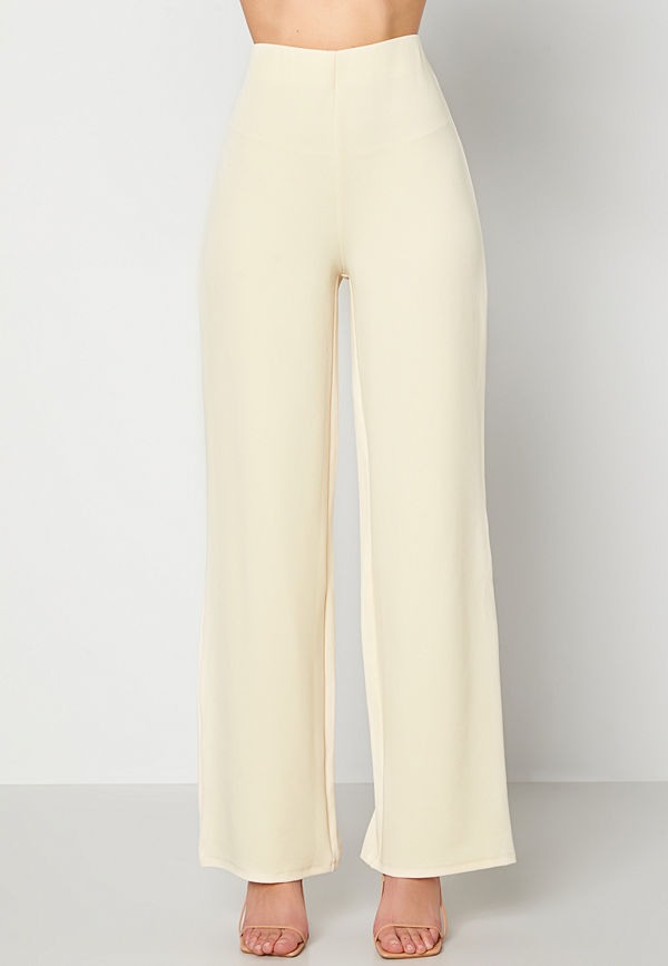 Bubbleroom byxor Petronella trousers Light beige