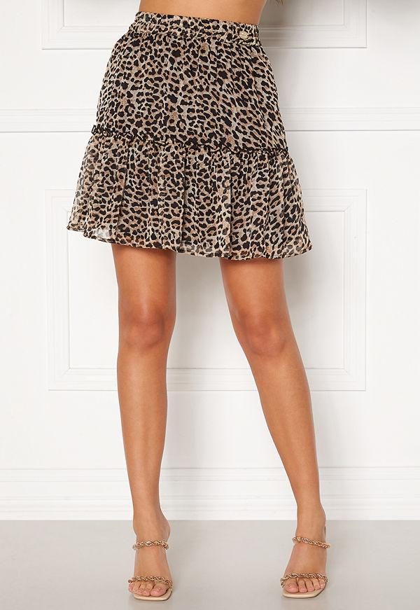 Chiara Forthi Lorenza mini skirt Leopard
