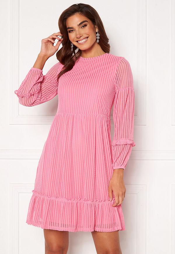 Only Naja L/S Baloon Dress Sachet Pink