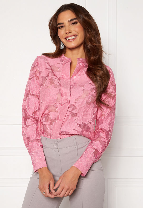 Selected Femme Sadie LS Shirt Roosebloom