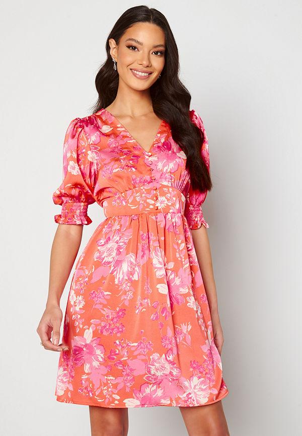 Vero Moda Julia S/S Shorts Dress Emberglow AOP Julia