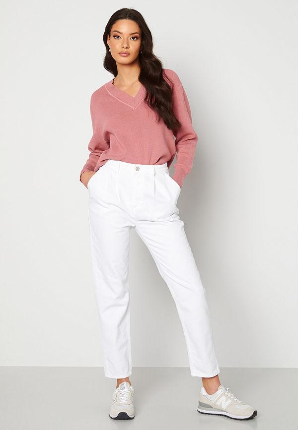Trendyol Eco Cotton High Waist Jeans White