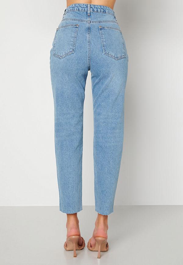 Trendyol Eco Cotton High Waist Jeans Blue