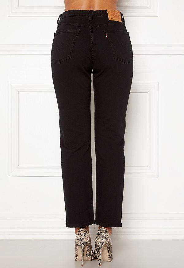 Levi's 501 Crop Jeans 0085 Black Heart