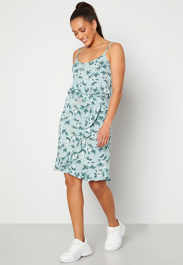 Happy Holly Farah skirt Light blue / Patterned