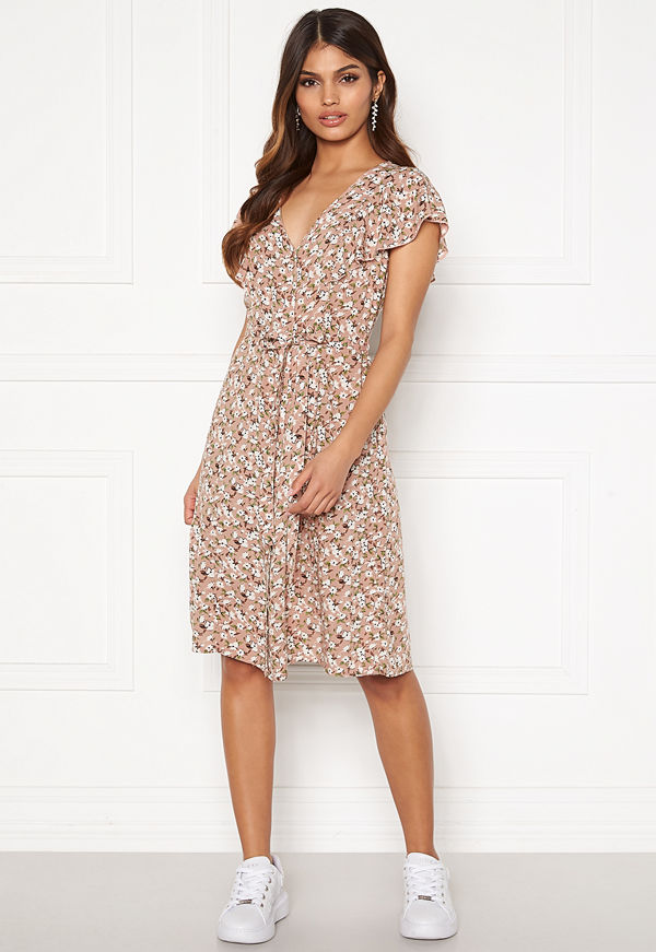 Happy Holly Fiona dress Light pink / Patterned