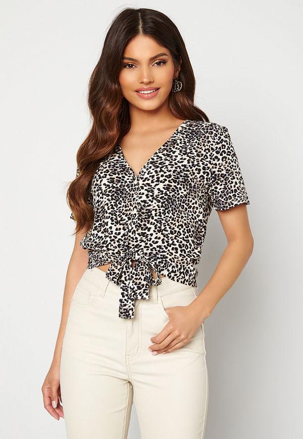 Vero Moda Simply Easy Shirt Tie Top Birch