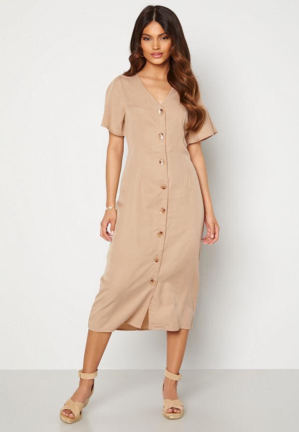 Vero Moda Viviana Ss Calf Dress Nomad