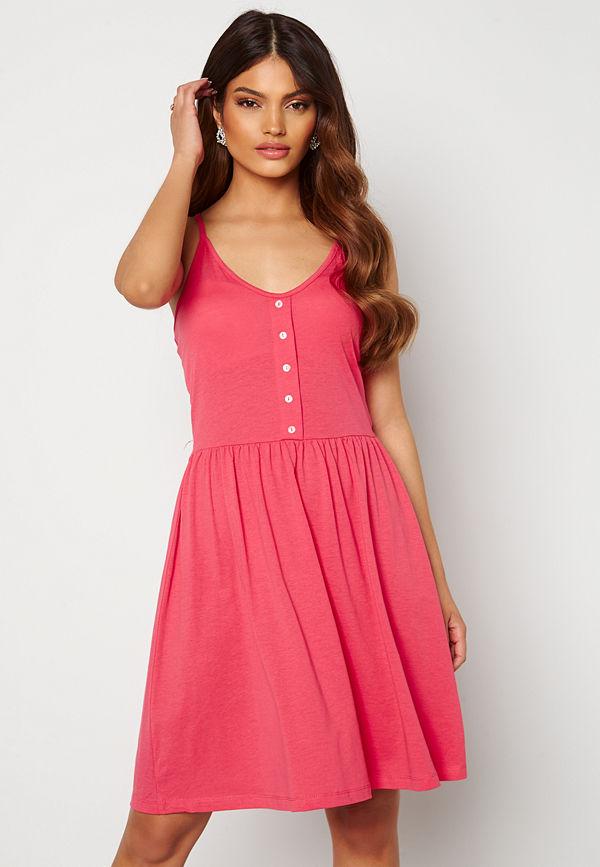 Vero Moda Adarebecca SL Short Dress Honeysuckle