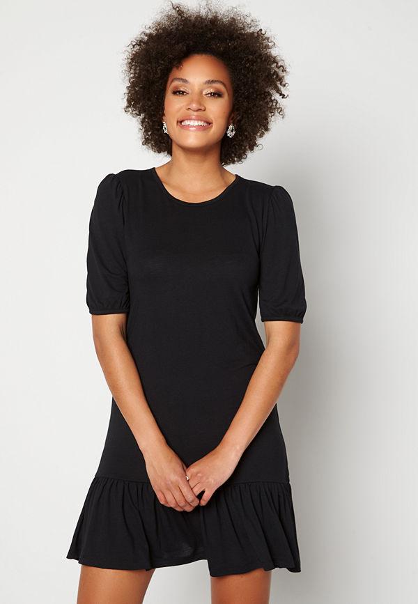 Jacqueline de Yong Urban Gabriella S/S Dress Black / Melange