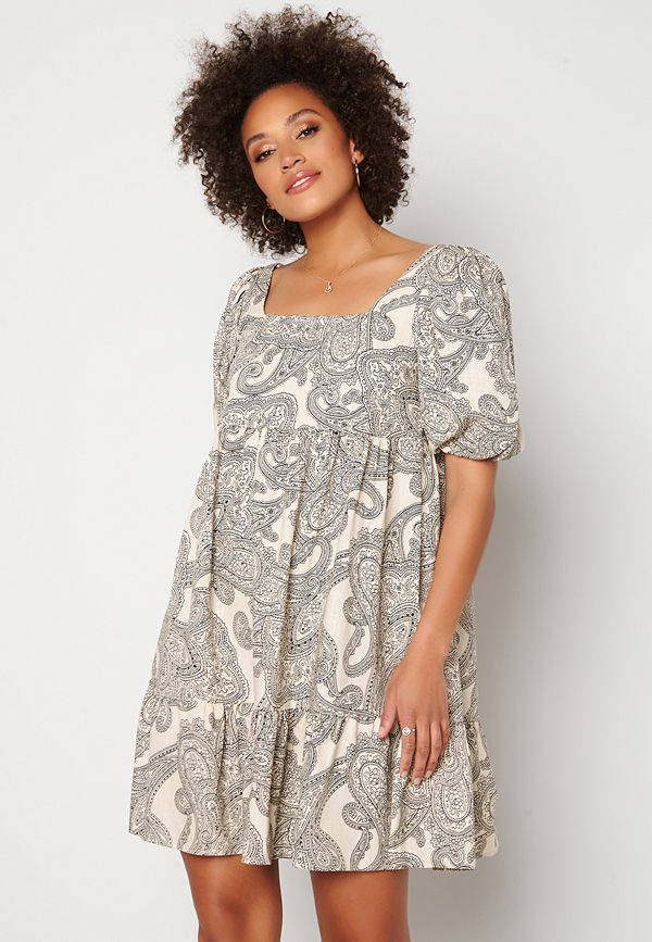 Object Adilla 2/4 Dress Sandshell AOP