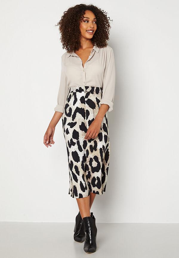 Object Collectors Item Leonora HW Midi Skirt Sandshell Big Leo