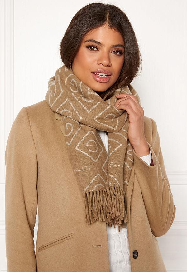 Gant G Wool Scarf 213 Warm Khaki