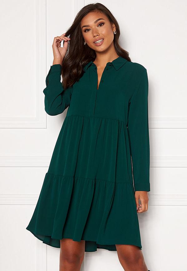 Jdy Piper L/S Shirt Dress Ponderosa Pine