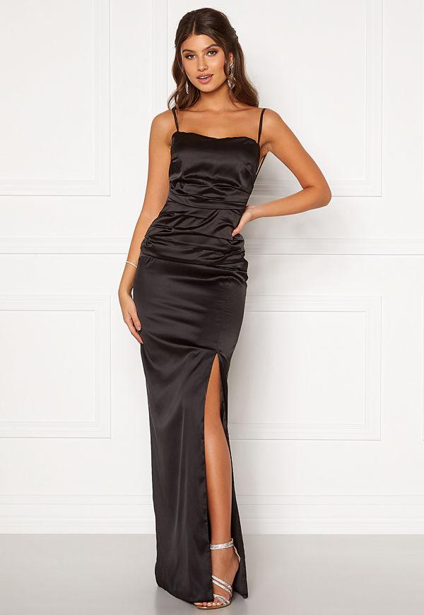 Bubbleroom Occasion Alda Strap Gown Black