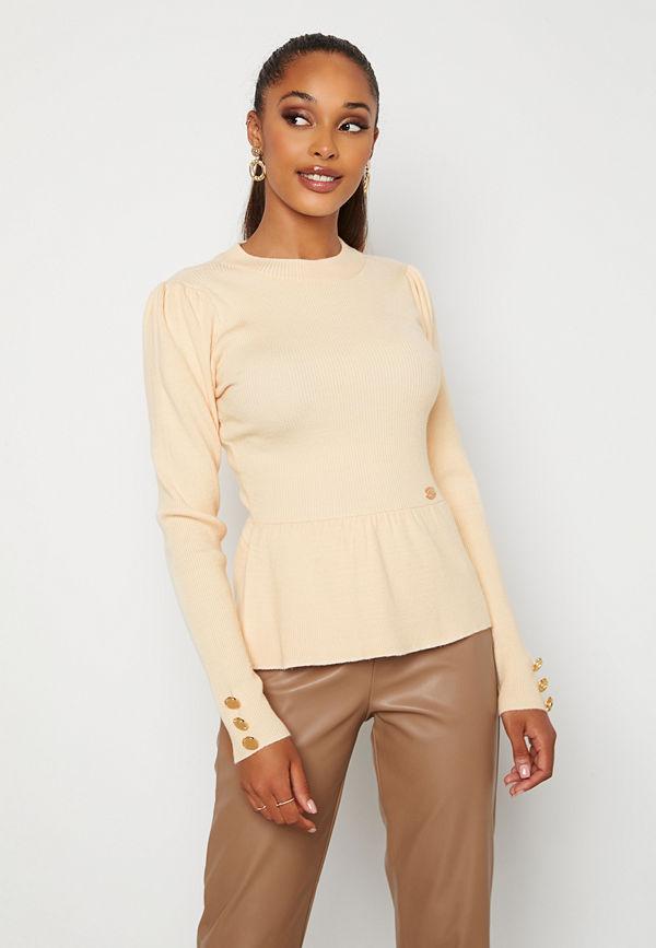 Chiara Forthi Claudina sweater Light beige